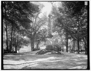 Battle monument at Concord. Courtesy of the Library of Congress.