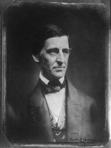 Ralph Waldo Emerson. Courtesy of the Library of Congress.