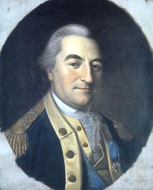 Portrait of Baron Johann de Kalb  (by Charles W. Peale)