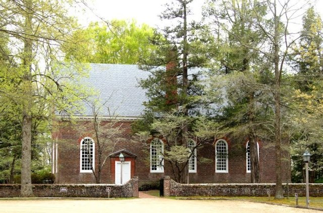 Ware Church. C. 1715. (courtesy Google Image Bank)