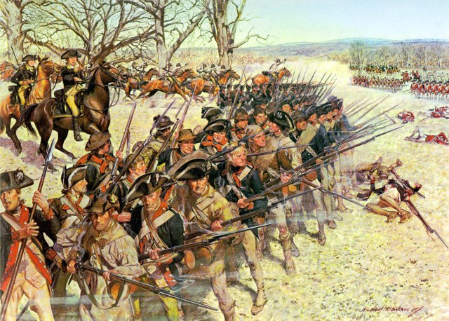 1st Maryland Continentals at Battle of Guilford Court House