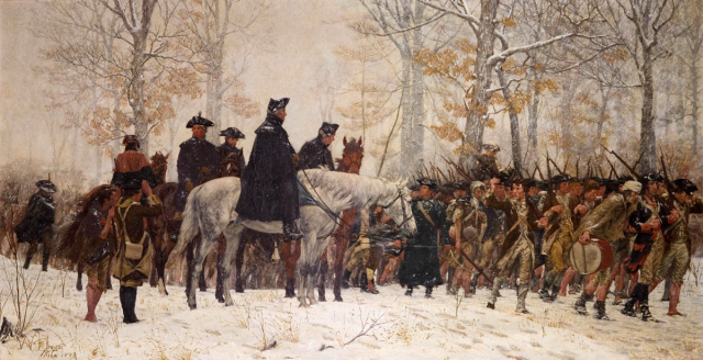 The March to Valley Forge by William Trego, 1883