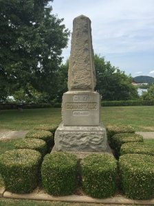 Monument to Chief Cornstalk.