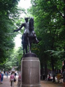 Revere Statue