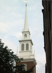 Steeple of Christ Church
