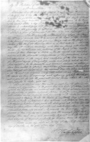 George Washington's Thanksgiving Proclamation, 1789. (courtesy of archives.gov)