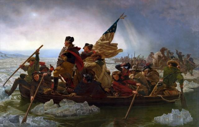 Washington Crossing the Delaware, by Emanuel Gottlieb Leutze The Metropolitan Museum of Art, http://www.metmuseum.org
