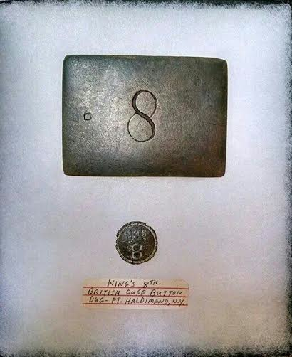 8th Belt Plate and Button