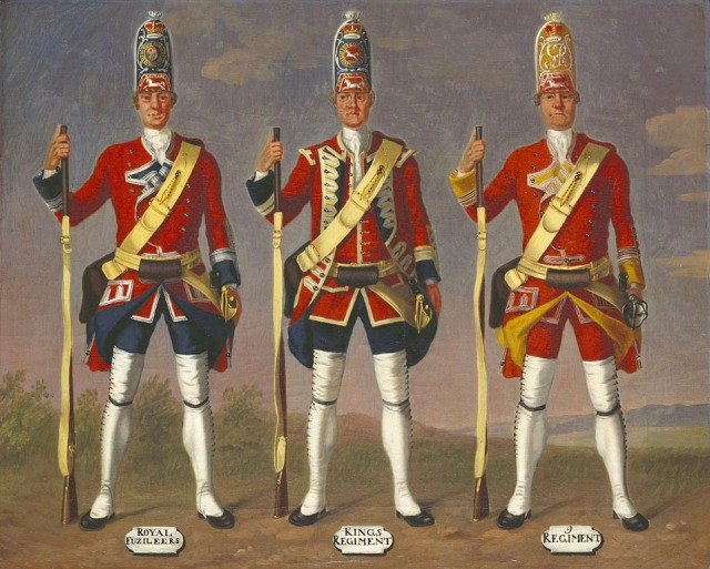 "An Introduction To The 8th, Or ""King's,"" Regiment Of Foot"