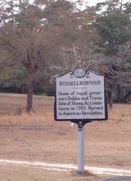 Russellborough Sign