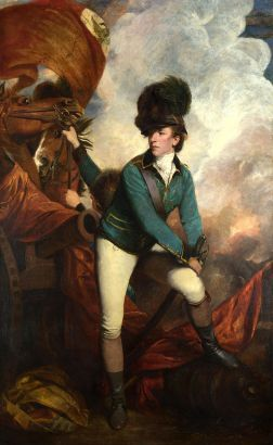 Banastre Tartleton, British commander at Cowpens