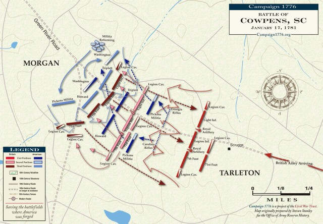 Battle of Cowpens (Courtesy of Campaign 1776/CWT)