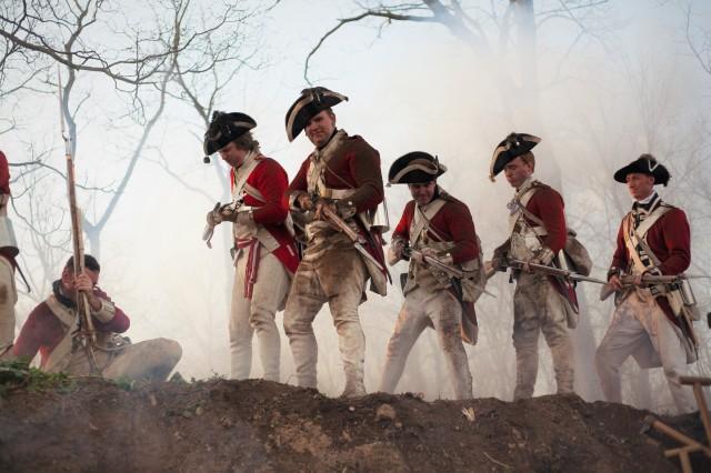 17th Regiment of Foot Reenactors