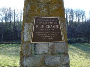 Sergeant Major John Champe Monument