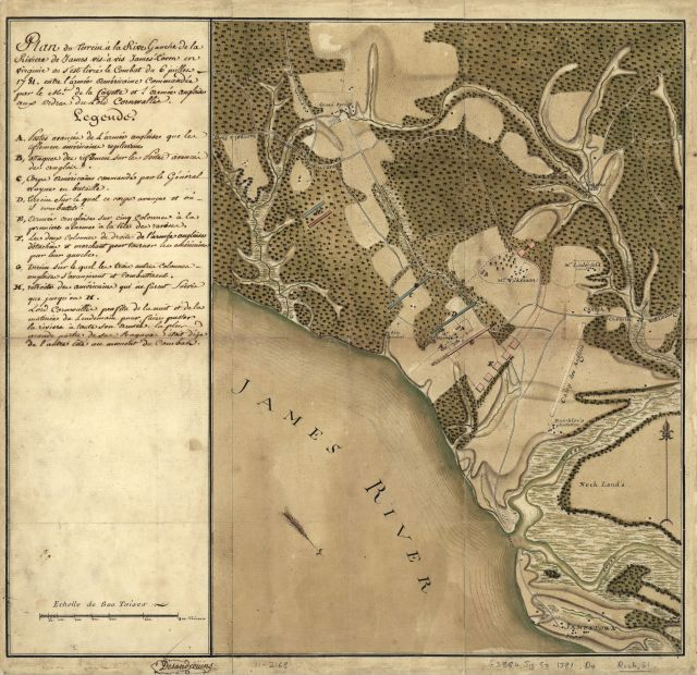Left-Bank-James-River-Rochambeau-map