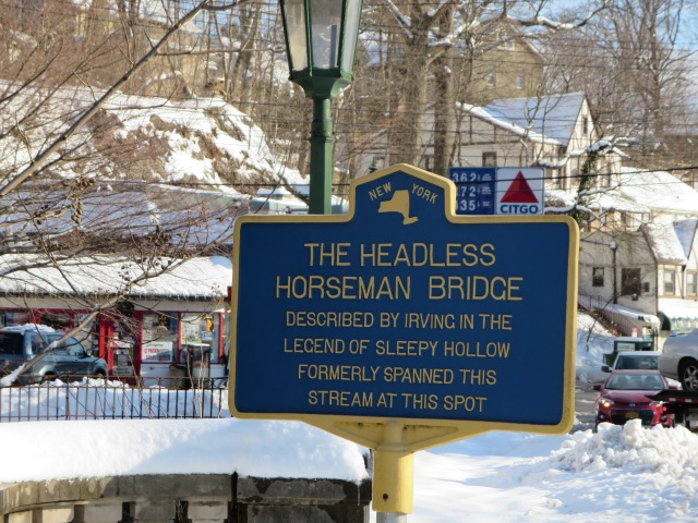 One of the many historic sites in Sleepy Hollow you can visit still today. (Author's photo)