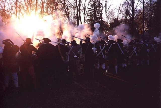 58-Minutemen fired till late in the day of April 19th