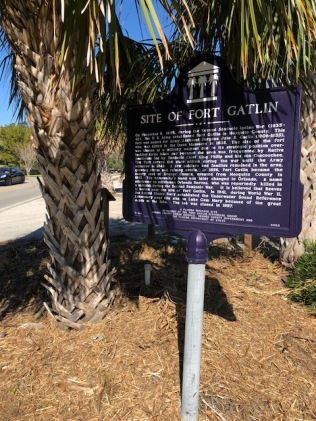 Florida Historical Marker for the Site of Fort Gatlin