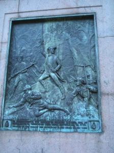 Battle of Harlem Heights Marker