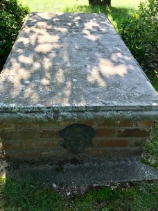 Grave of an American Revolutionary War veteran in Hanover County, Virginia (photo courtesy of M. Wilcox)