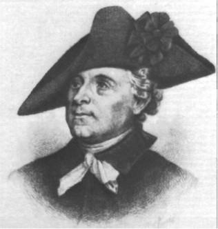 Issac Huger First Marshal of South Carolina