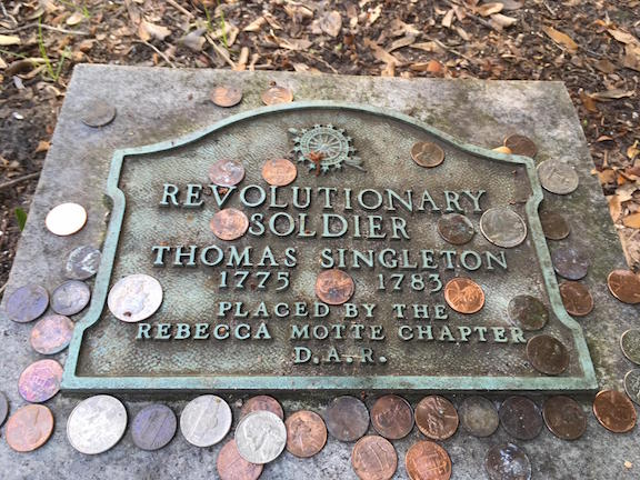 Charleston Rev War Soldier Grave