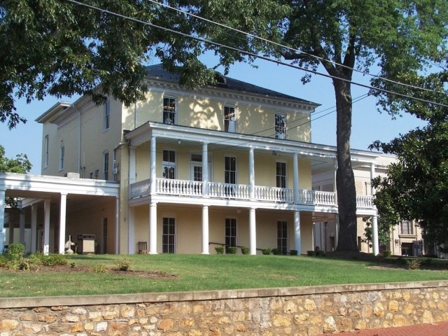 The Warren Green Hotel, where Lafayette toasted Captain Ashby and the men of the Third Virginia (Mosby Heritage Area Association)