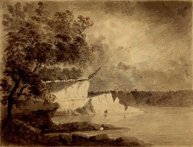 Sketch of Wabash River, 1778
