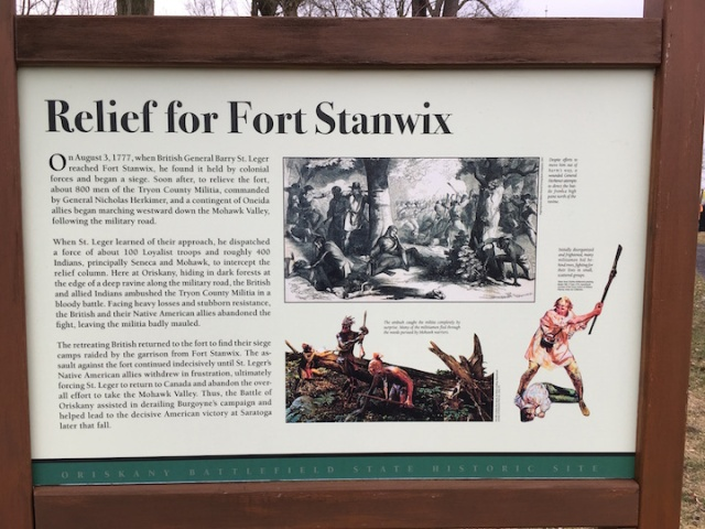 Relief for Ft. Stanwix