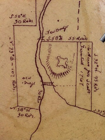 Fort Sackville Map Inset, (Nova Scotia Archives and Record Management, Wikimedia Commons)