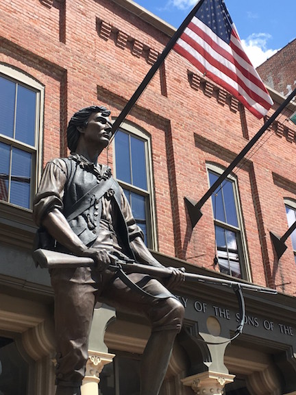 Sons of American Revolution Statue