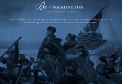 Be Washington Intro Slide
